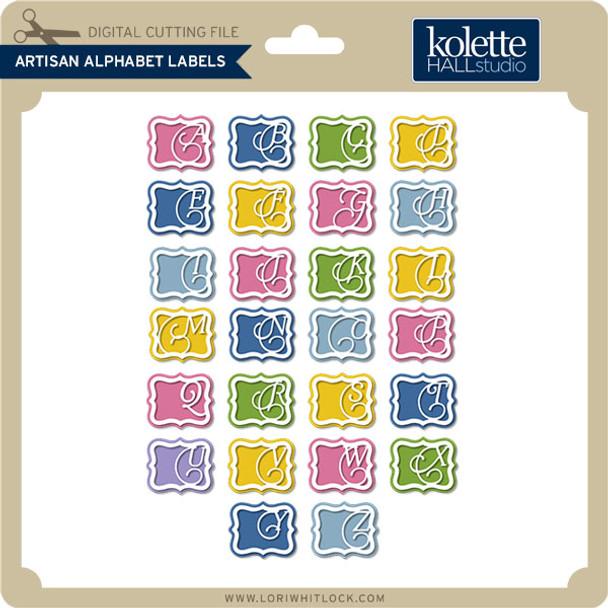 Artisan Alphabet Labels
