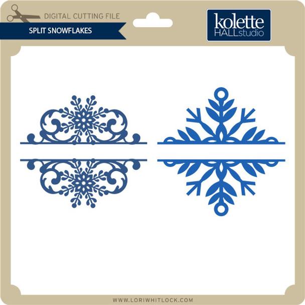 Split Snowflakes