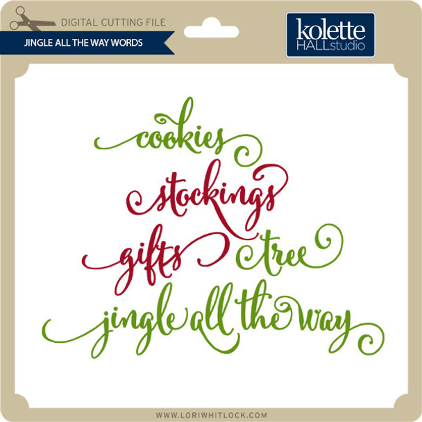 Jingle All the Way Words