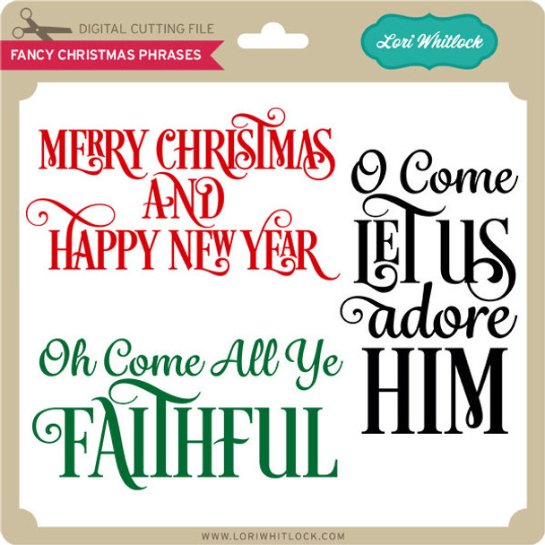 Fancy Christmas Phrases