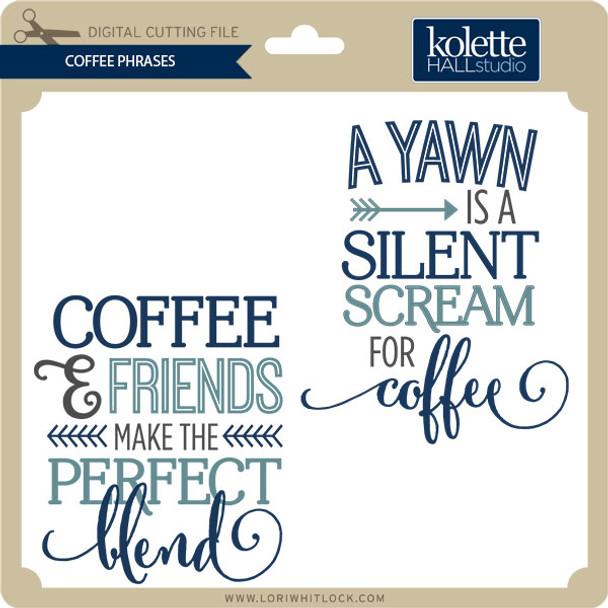 Coffee Phrases
