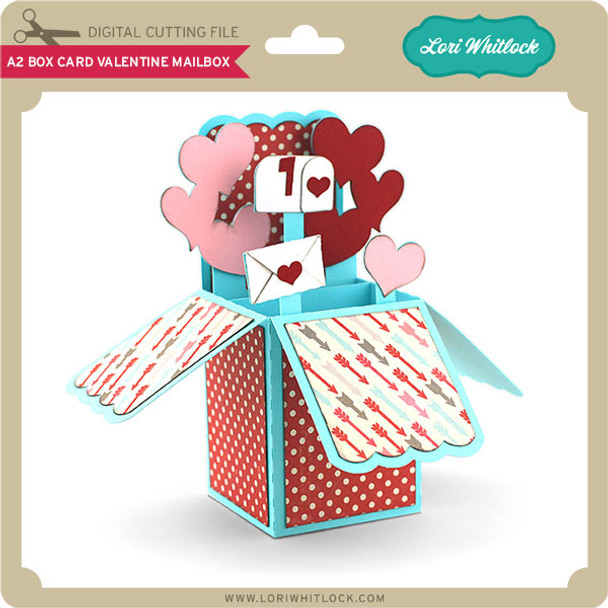 A2 Box Card Valentine Mailbox