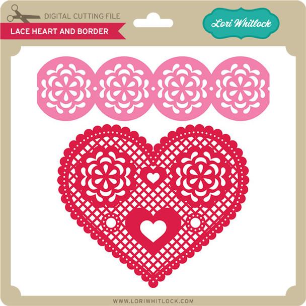 Lace Heart & Border