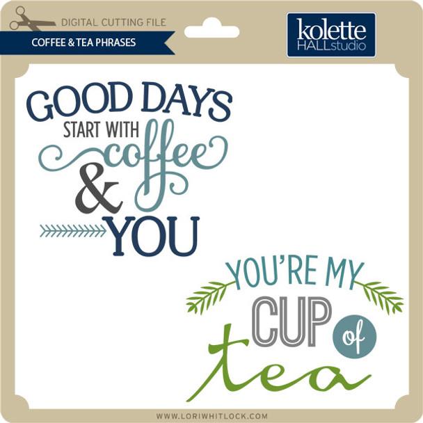 Coffee & Tea Phrases