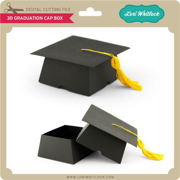 3d Graduation Cap Box