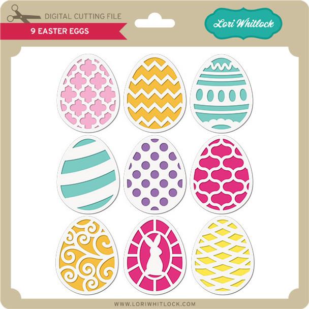 9 Easter Eggs