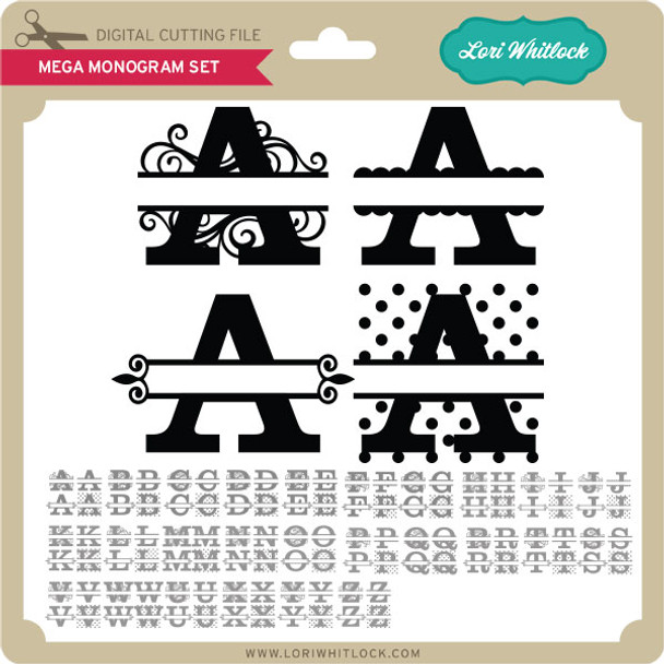 Mega Monogram Set