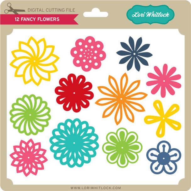 12 Fancy Flowers