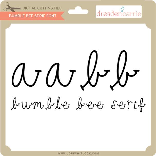 Bumble Bee Serif Font