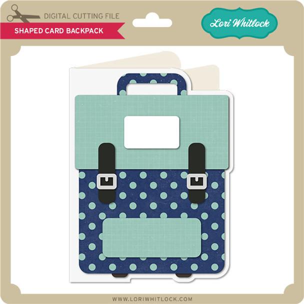 Shaped Card Backpack