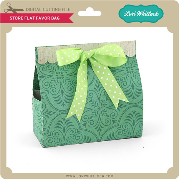 Store Flat Favor Bag