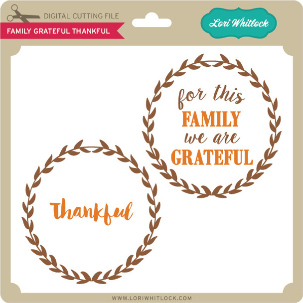 Family Grateful Thankful