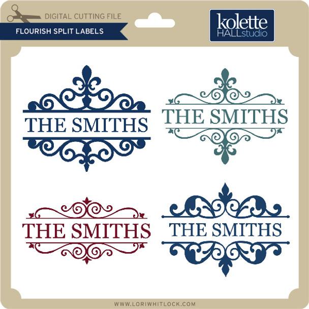 Flourish Split Labels