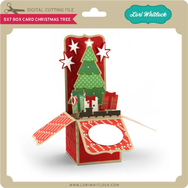 5x7 Box Card Christmas Tree