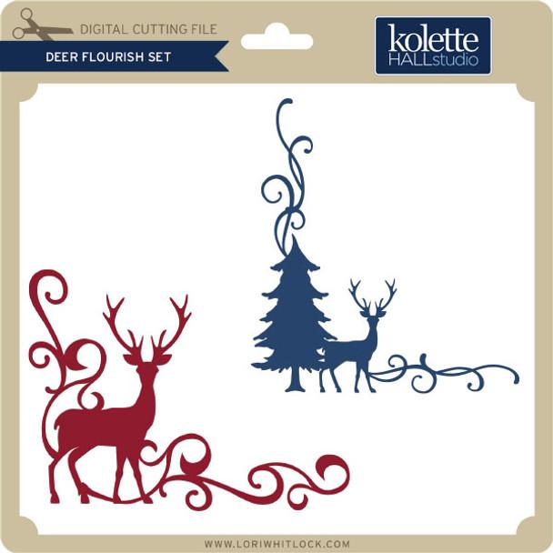 Deer Flourish Set