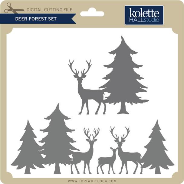 Deer Forest Set