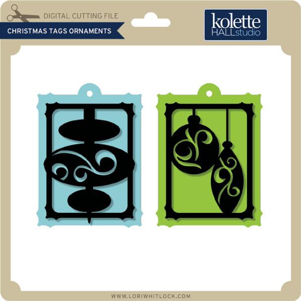 Christmas Tags Ornaments