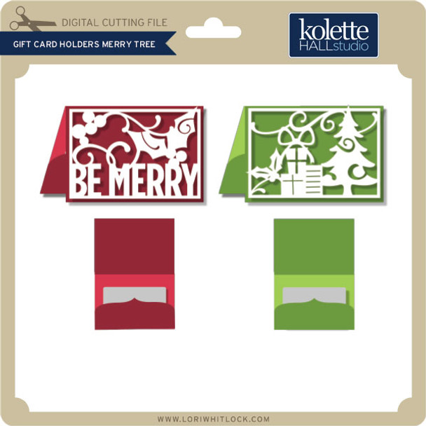 Gift Card Holders Merry Tree