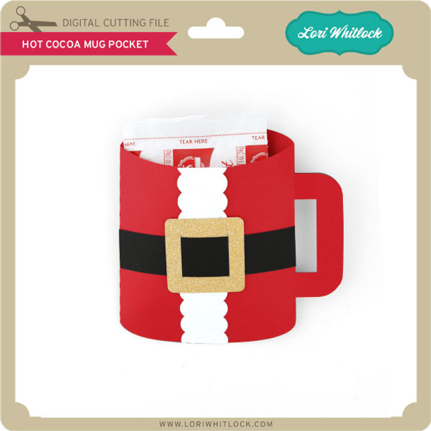Hot Cocoa Mug Pocket
