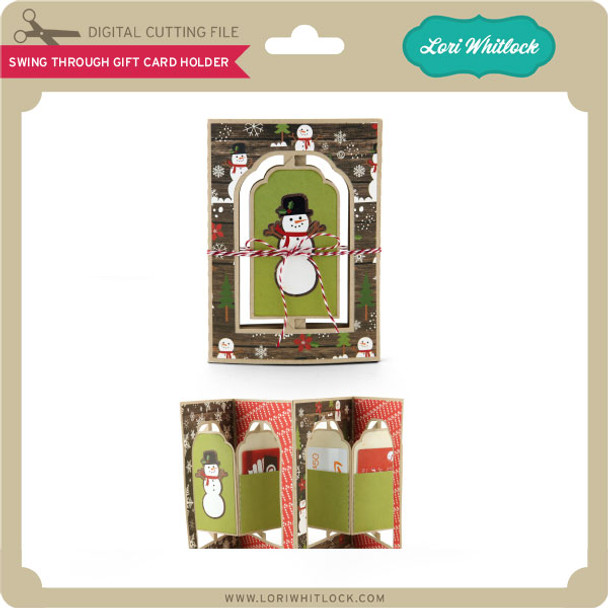 Swing Through Gift Card Holder