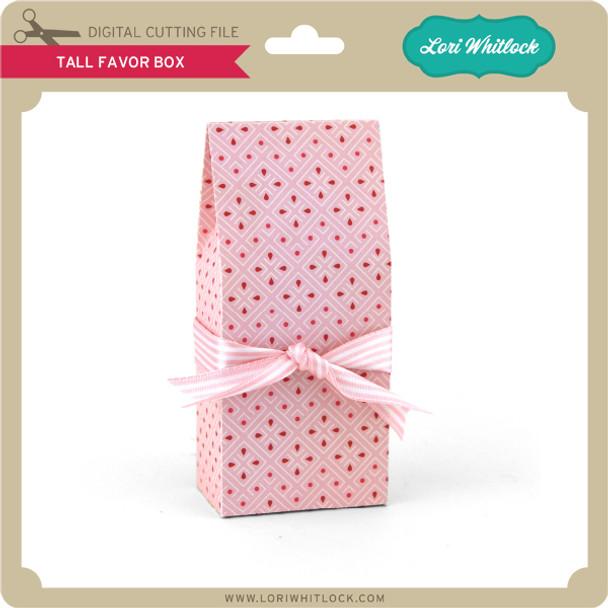 Tall Favor Box