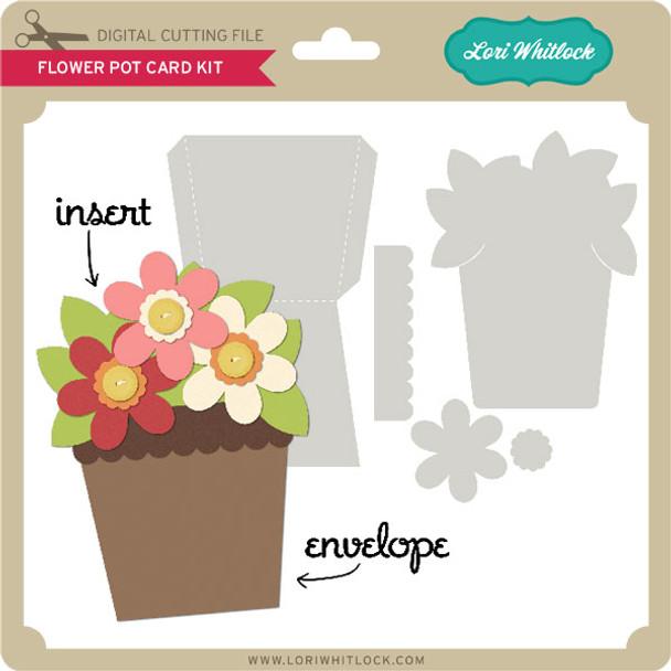 Flower Pot Card Kit