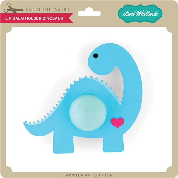 Lip Balm Holder Dinosaur
