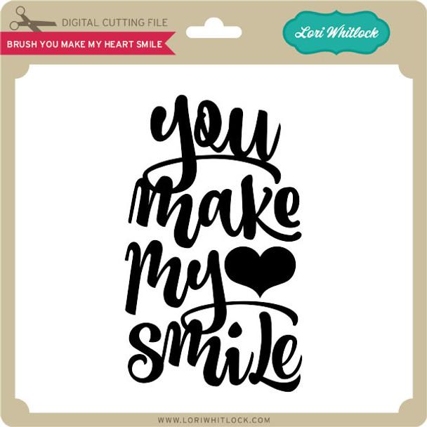 Brush You Make my Heart Smile