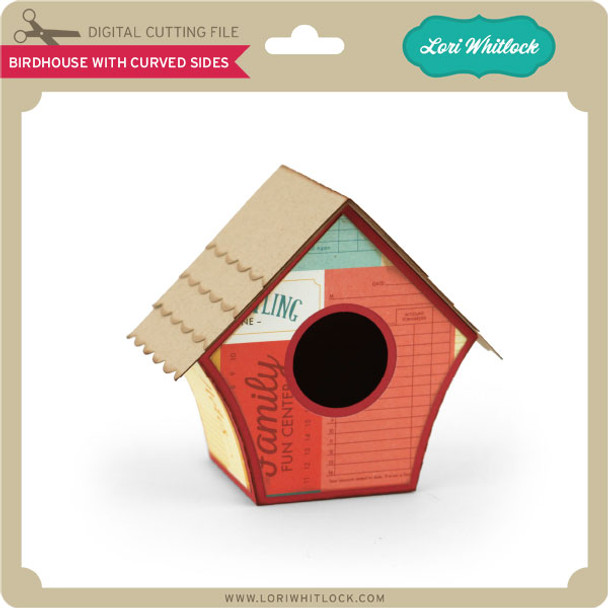 Birdhouse Curved Sides