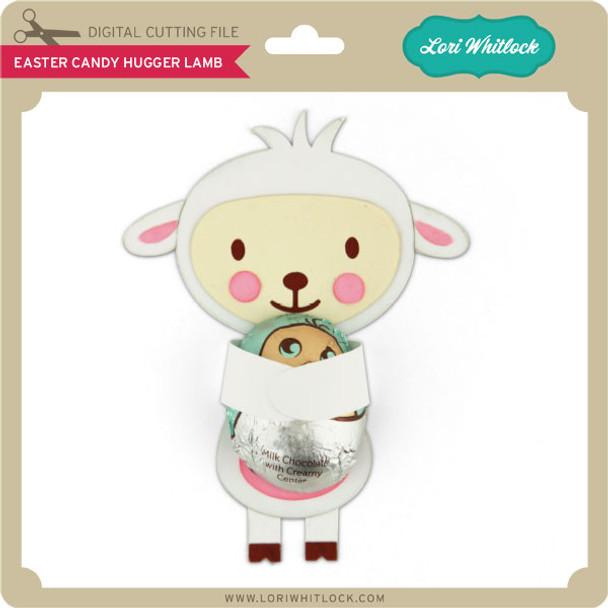 Easter Candy Hugger Lamb