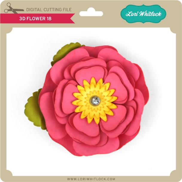 3D Flower 18