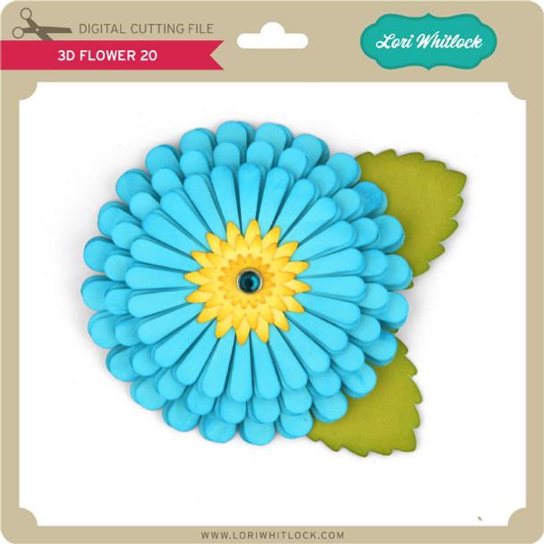 3d Flower 20