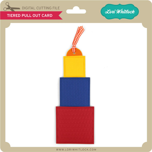 Tiered Pull Out Card