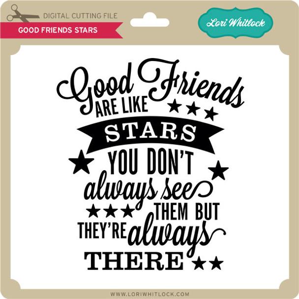 Good Friends Stars