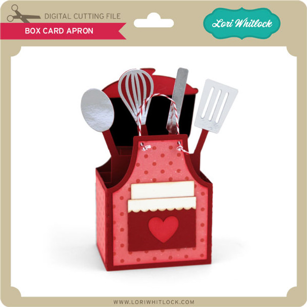 Box Card Apron