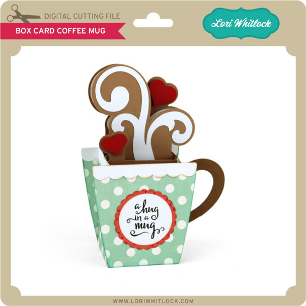 Box Card Coffee Mug