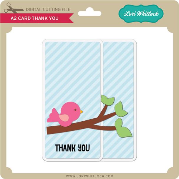 A2 Card Thank You