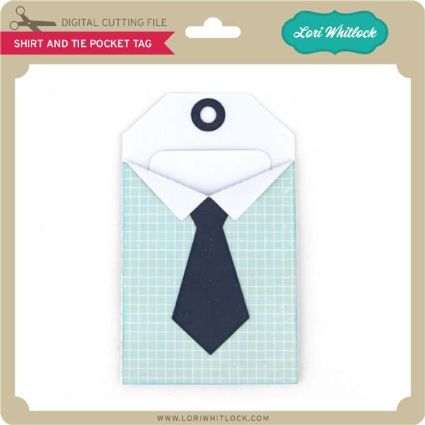 Shirt and Tie Pocket Tag
