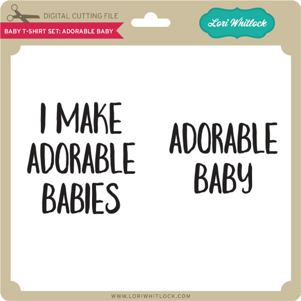 Baby T-Shirt Set: Adorable Baby