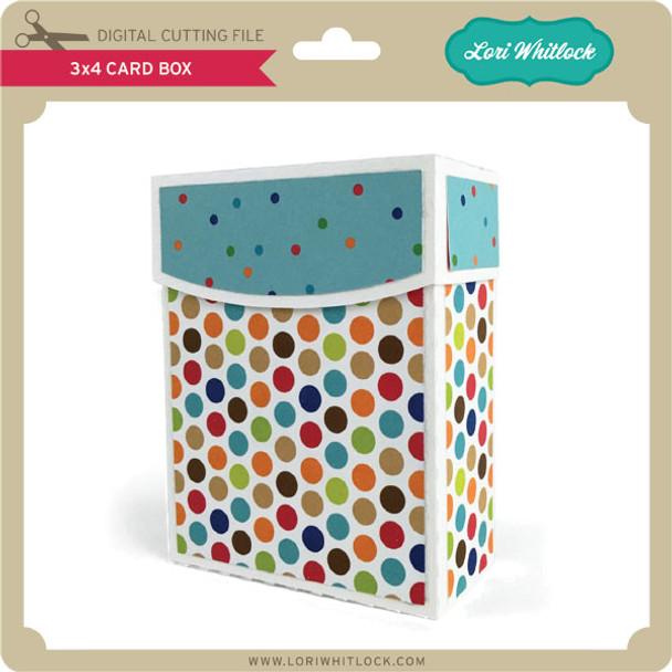 3x4 Card Box