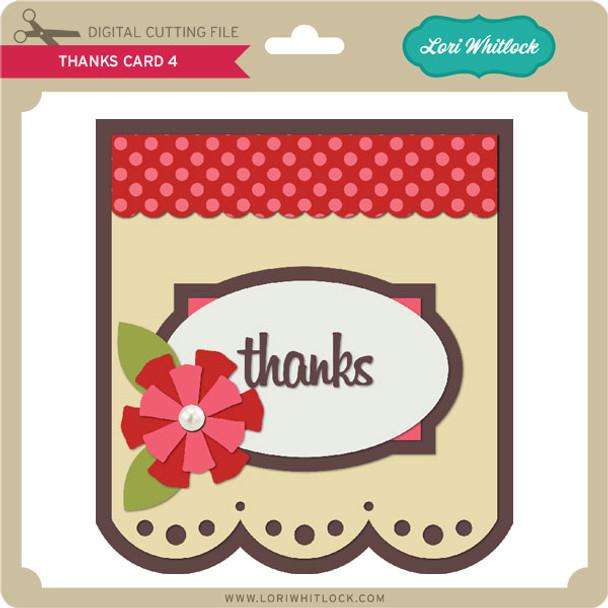 Thanks Card 4