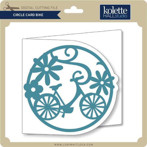 Circle Card Bike