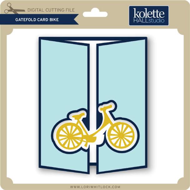 Gatefold Card Bike