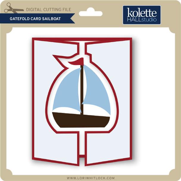 Gatefold Card Sailboat