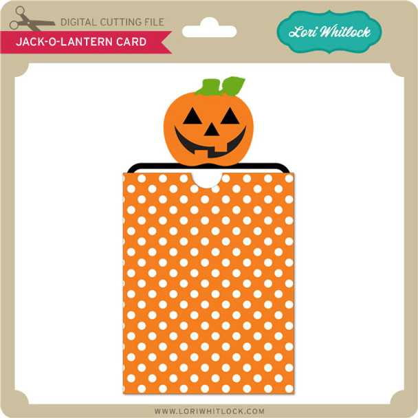 Jack-O-Lantern Card