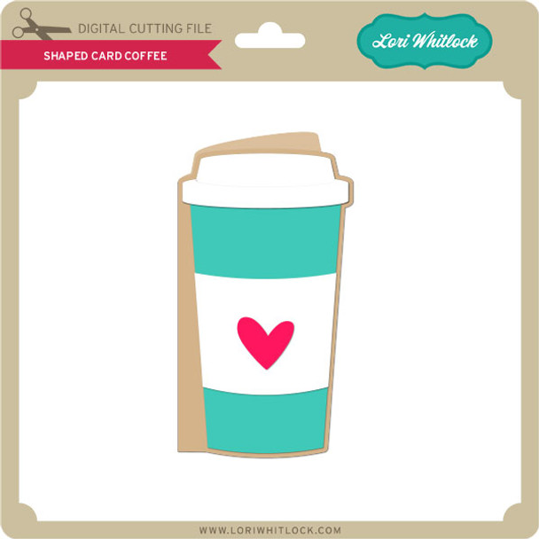Shaped Card Coffee
