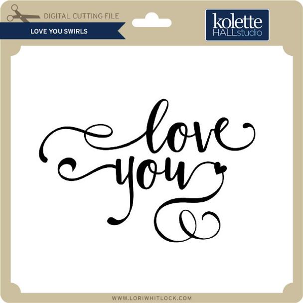 Love You Swirls