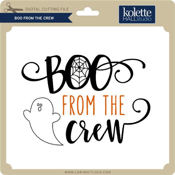 Boo From the Crew