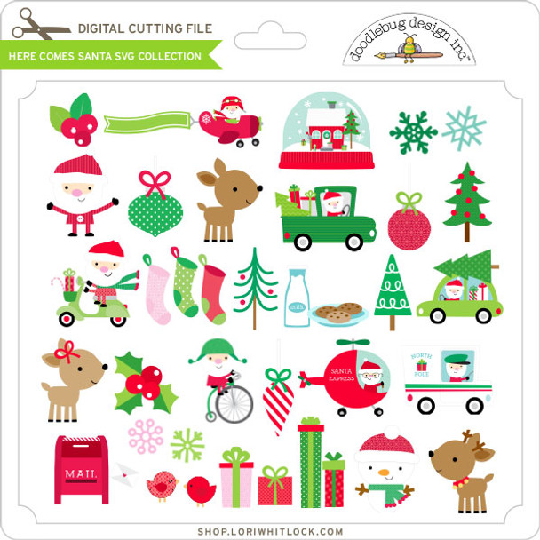 Here Comes Santa SVG Collection