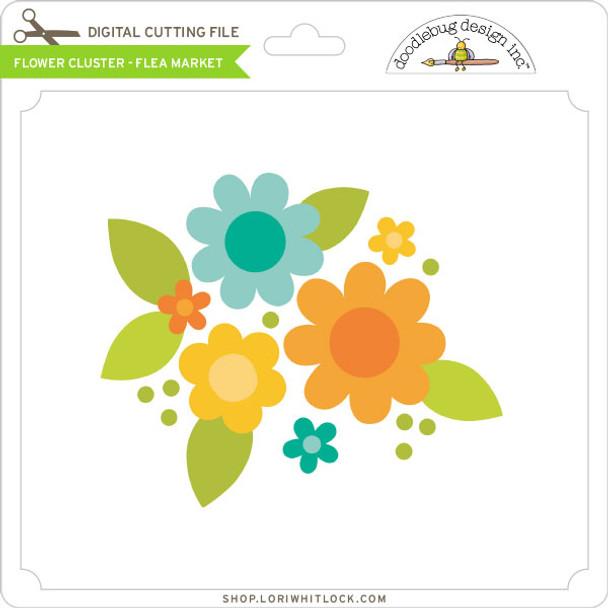 Flower Cluster - Flea Market